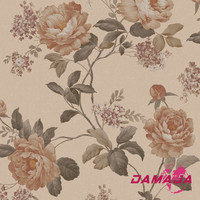 SJ620901vinyl wall coating/italian design/waterproof/beautiful flower/germany wallpaper manufacturers
