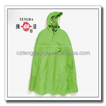 factory price OEM PVC bicycle rain poncho