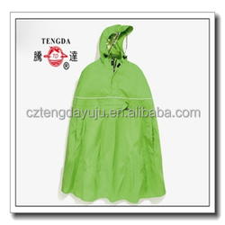 factory price OEM PVC bicycle rain poncho