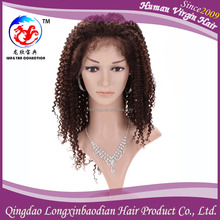 2015 Top Quality Silk Top Full Human Hair Lace Wig, Hot Selling Silk Top Curly Full Lace Wig With Qingdao Factory Price