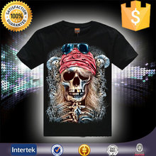 Good market men's sublimation customized t shirts