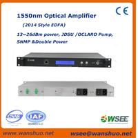 JDSU 980nm 22dB catv 1550nm EDFA is best selling India,Vietnam,Thailand