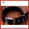 2015 Wholesale Eco-friendly Black padded Nylon Webbing buckle Dog Collar