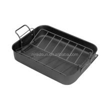 Carbon steel microwave baking pan/cast iron/beef baking pan