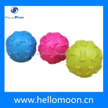 2015 New Style Best Selling Rubber Dog Toy Ball