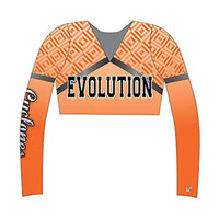 2015Wholesale cheerleading uniforms /Custom Sublimated cheer uniforms