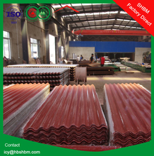 """""""Iron Crown """" high strength anti-corosion insulation MGO roofing sheets instead of plastic flat sheet roof SSHH01"""