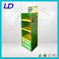 8 years factory factory wholesale wiper blade floor display ,factory price hook cardboard display stand