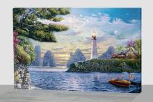 LED candle wall art led canvas light, led photo frame, landscape light pictures