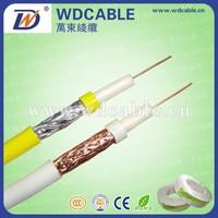 High transmitting TV RG58/RG59/RG6/RG11 cable coaxial
