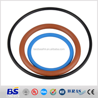 Manufacturer of Colorful NBR Standard rubber o rings in AS568,DIN,JIS or custom size o rings