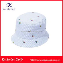 Hot Outdoor New Design Style Full Printed Pattern Colorful Canvas Bucket Hat Small Order Wholesale On Alibaba