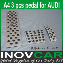 A4 aluminum alloy Auto Pedal, Car foot plate For AUDI A4 Pedal pad AT