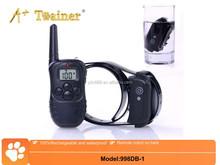 998DB no bark dog collar,dog training collar,dog clicker