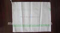green line polypropylene sandbags carrier sack pe bags pp empty bag