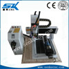 High accuracy mini cnc metal milling machine 3d cnc router with rotary axis SKA-4040L