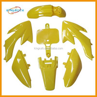 High quality crf50 plastic body for 50cc 70cc 90cc motorcycle abs fairing kit