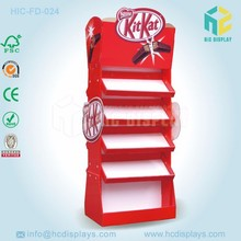 pop display for chocolate display,cardboard pop display stand