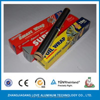 microwave oven household and hotel use catering aluminium foil roll