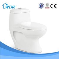 stock cheap electronic ceramic washdown one piece wc toilet