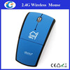 Personalized 2.4Ghz Wireless Optical Foldable Arc Mouse