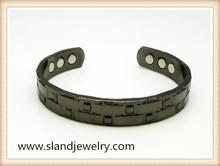 High quality elegant copper magnetic bangle with 6 high power magnets magnetic bracelet golf