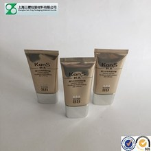 Cosmetic tube packaging for cream