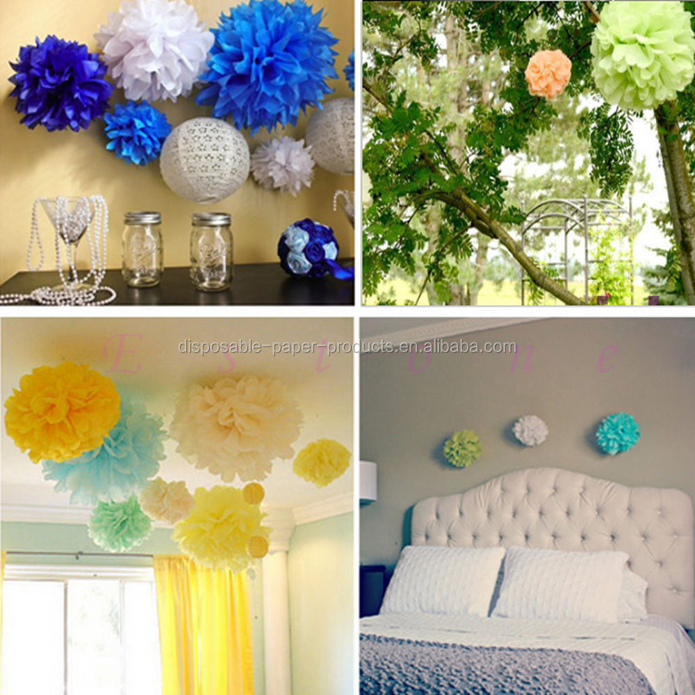 how to make a crepe paper backdrop