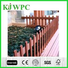 Garden wood plastic composite fence garden wpc fence garden fence panels