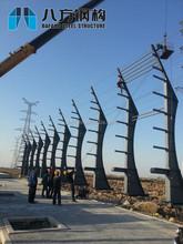 Tian Yuan Manganese Industry Steel Structure Billboard