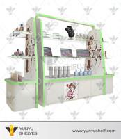 Wholesale makeup mac cosmetic display stand