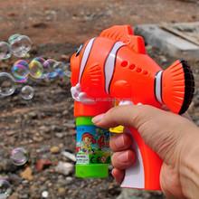 Custom cheapest Toys Wholesale Bubble Gun , fish bubble gun with battery