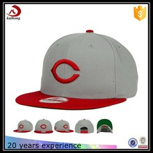 high quality wool and acrylic blend fabric custom made flat bill visor cap polo snapback hats