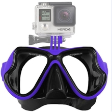 Water Sports Diving Equipment Diving Mask Swimming Glasses for GoPro HERO4