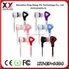 colorful cheap 3.5mm diameter retro 15mm driver earphone