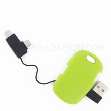bulk items creative design 2 in 1 micro usb data cable