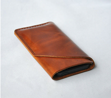 2015 fashion Wholesale Mobile Phone Sleeve Genuine Leather Case for iphone6