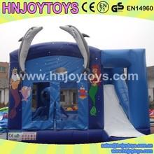 inflatable mysterious ocean world city,Ocean world theme inflatable fun city