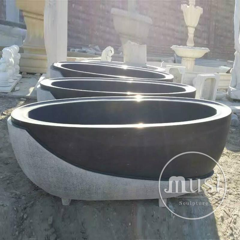 chinese supplier granite portable bathtub for adults