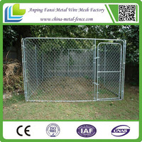 Alibaba China - Large Chain Link Metal Dog Kennel Crate Outdoor Pet House Exercise Pen Training