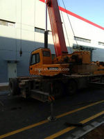 shanghai used condition 10y Sany 55t Truck Crane for sale in shanghai / used truck crane with Excellent Working Condition