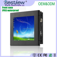 """8"""" industrial touch screen panel pc with linux"""