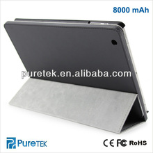 Tablet Leather case For Ipad battery Smart Cover,battery For IPAD Accessory