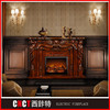 beige marble refillable imperial wall mounted gas fireplace