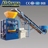 Automatic fly ash brick machine for small business, manual bricks making factory