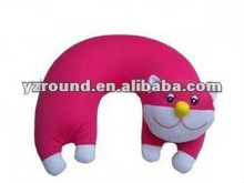 Colorfull Comfortable Cute Cat Neck Bone Rest Pillow support on a long journey