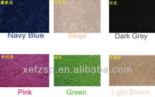 super-soft long pile polyester artifical silk carpets