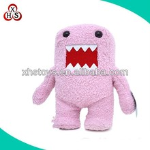 custom cute plush robot toys big opening mouth robot stuffed toys
