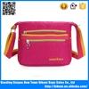 China factory 2015 fashion sling waterproof messenger bags ladies