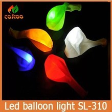 Led Balloon for holiday party Colorful Led balloon Blue Red Green Yellow White 5 Colors Led Balloon Light